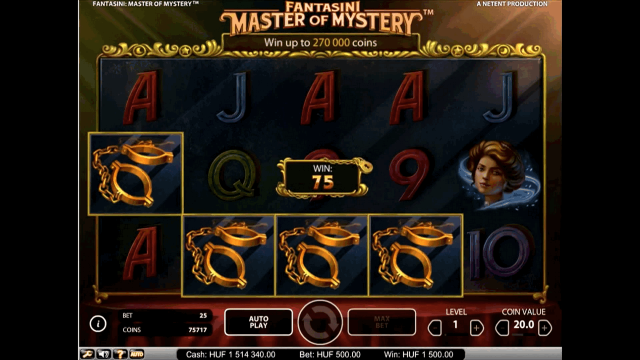 Бонусная игра Fantasini: Master Of Mystery 8