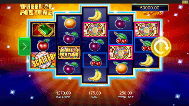 Бонусная игра Wheel Of Fortune: Triple Extreme Spin 5