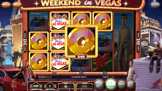 Характеристики слота Weekend In Vegas 10