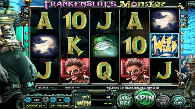 Характеристики слота Frankenslot's Monster 7