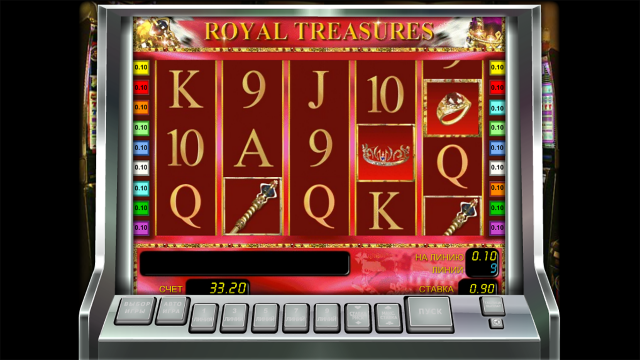 Характеристики слота Royal Treasures 3