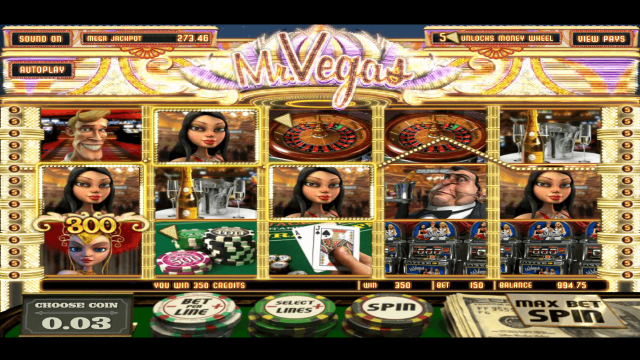 Характеристики слота Mr. Vegas 8