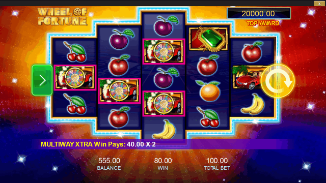 Игровой интерфейс Wheel Of Fortune: Triple Extreme Spin 10