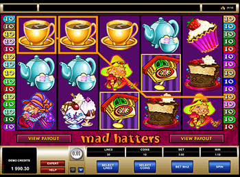 Бонусная игра Mad Hatters 4
