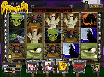 Бонусная игра The Ghouls 4