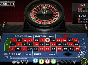 Бонусная игра French Roulette 1